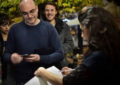 enchanted cinema halloween screening - audience smile