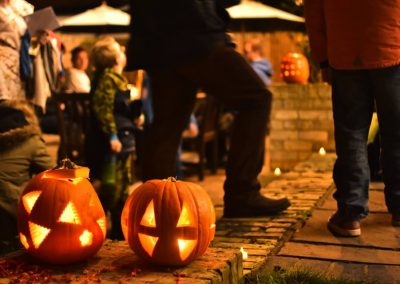 enchanted cinema halloween screening - pumpkin audience