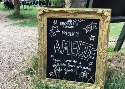 Amelie at Enchanted Cinema Cambridge - Summer Screenings 4