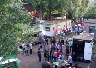 Enchanted Cinema and Thirsty Riverside at the Cambridge Museum of Technology FOOD TRUCKS