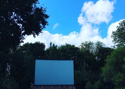 Blue skies in Grantchester! Roll on a magical summer's evening of outdoor cinema LaLaLand