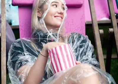 Theory of Everything at Enchanted Cinema - rain or shine!