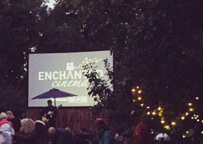 Enchanted Cinema Goers at the Moonlight screening