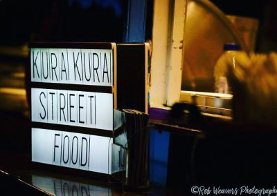 Street food by Kura Kura before The Great Gatsby at Enchanted Cinema